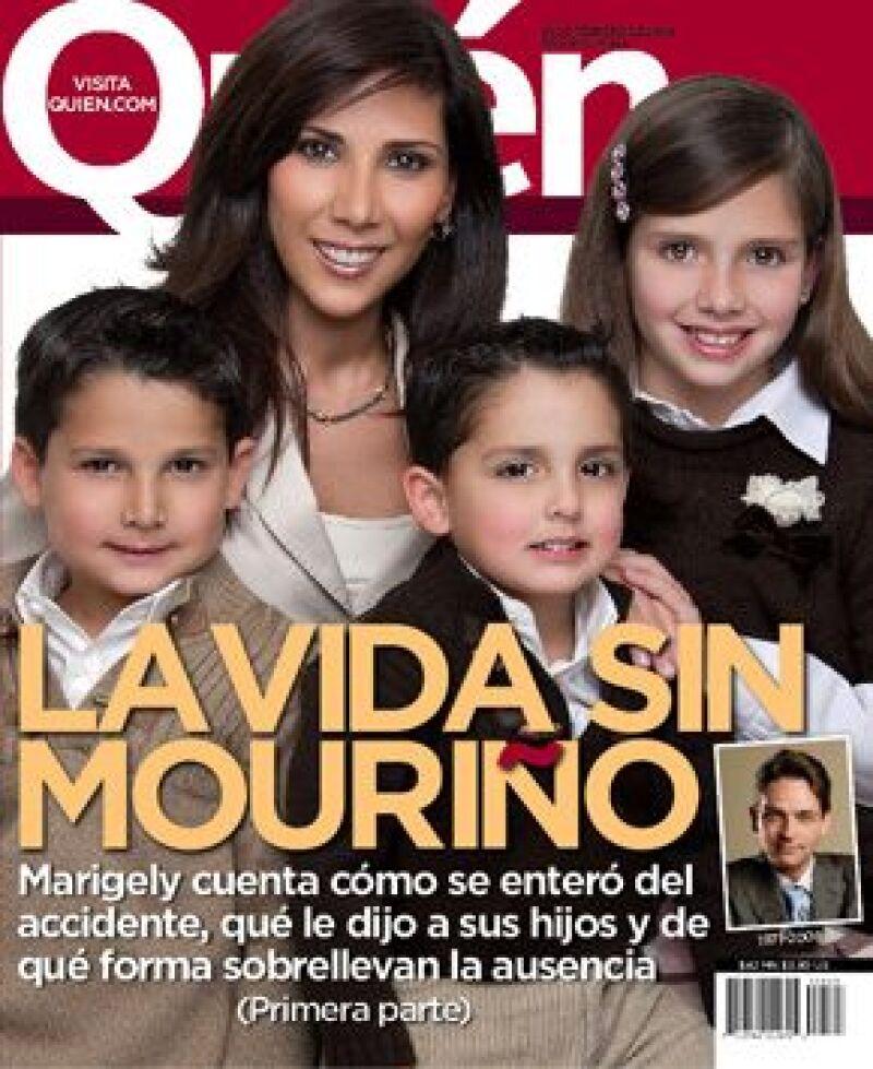 María de los Ángeles Escalante de Mouriño habla por primera vez de la muerte de su esposo, Juan Camilo.