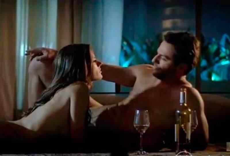 La modelo causó euforia en redes tras revelarse imágenes de una escena que grabó para una telenovela brasileña, en la que derrocha sexytud.