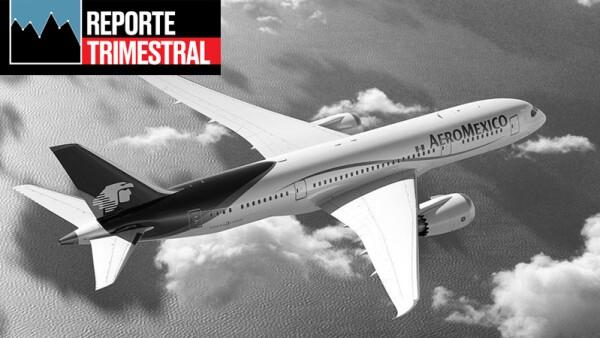 Aeroméxico reporte trimestral