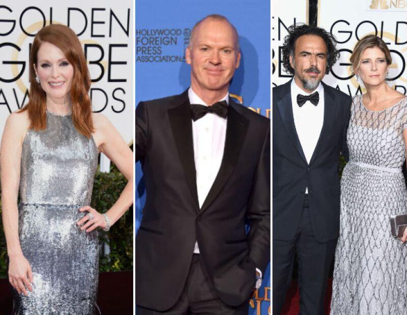 Una noche de sorpresas se vivió este domingo cuando actores y actrices subieron al escenario para recibir las preciadas estatuillas que destacaron su labor en diferentes cintas y series.