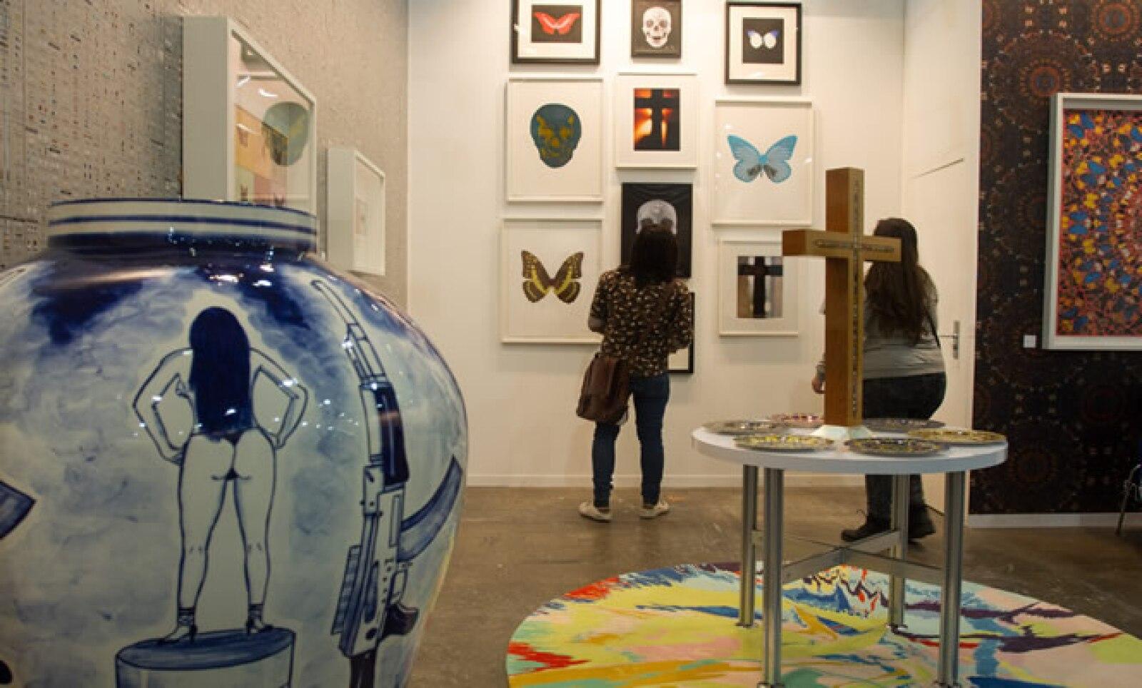 La muestra está dividida en nuevas propuestas, general, zona sur, arte moderno y diseño.