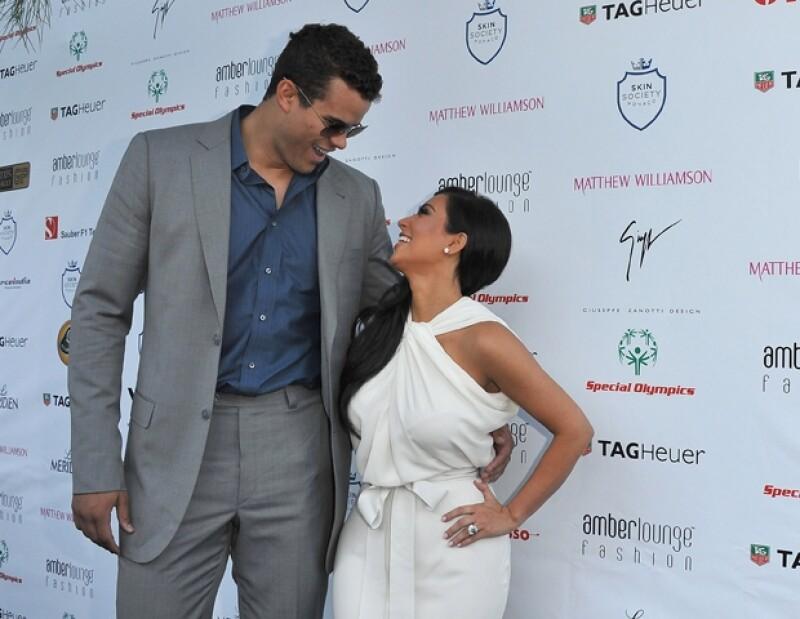 Kim Kardashian y Kris Humphries alguna vez se profesaron amor.