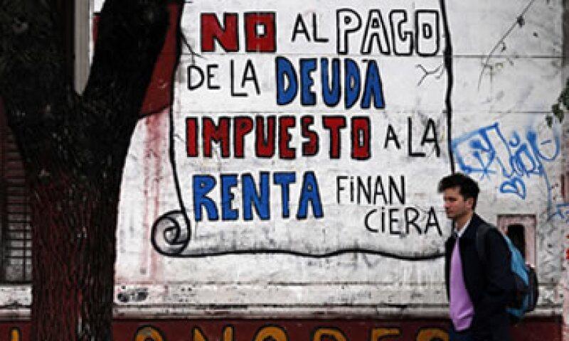 El default de 2001 representó el 166% del PIB de Argentina. (Foto: Reuters)