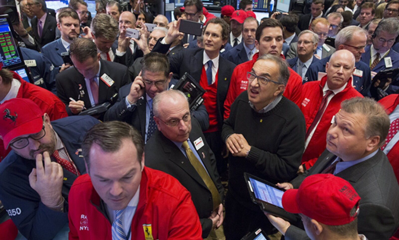 Los operadores se suman así al ánimo por el debut de Ferrari en la Bolsa de Nueva York.