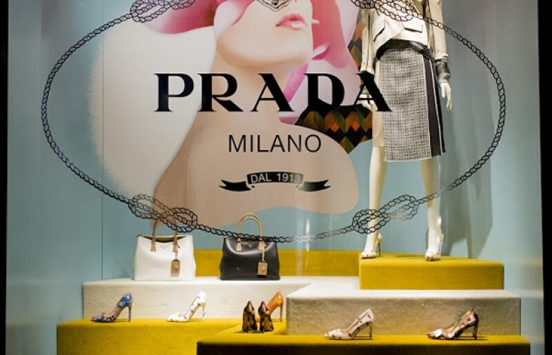 Aires setenteros giran en torno a la estética de Prada