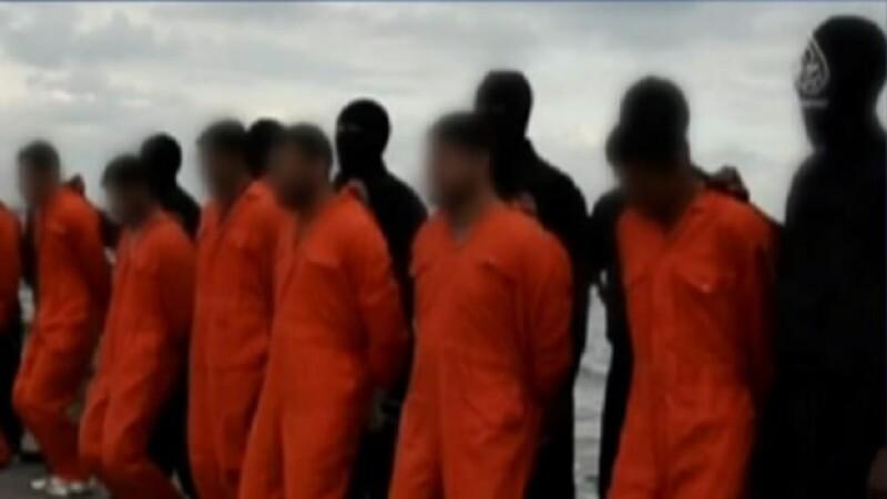 Yihadistas pertenecientes a ISIS llevaron a cabo una ejecución masiva, según un video difundido por el grupo militante