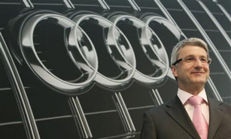El jefe de Audi, Rupert Stadler, indicó que hay una demanda para producción que no se podía cubrir desde las dos principales fábricas de la firma. (Foto: AP)