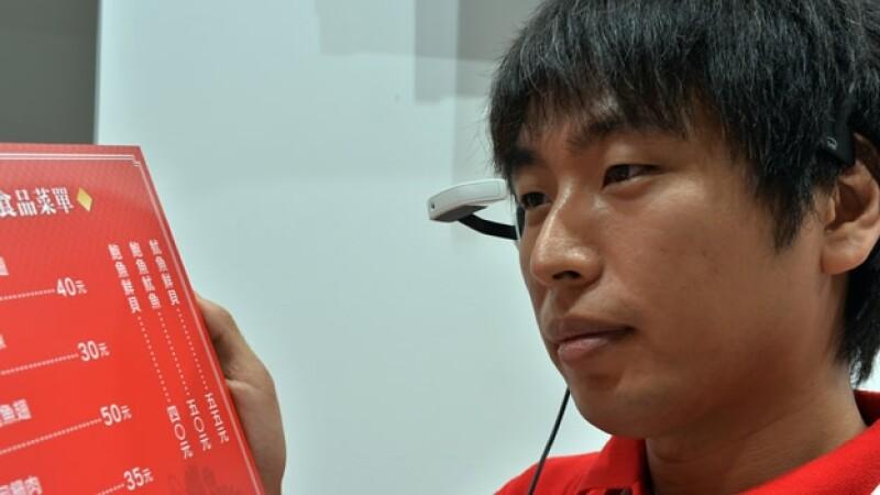 lentes que traducen el japones