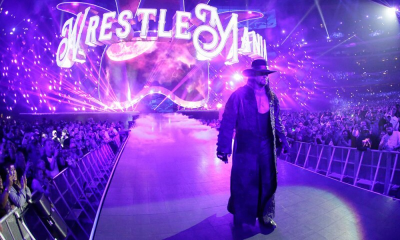 Wrestlemania 34 WWE