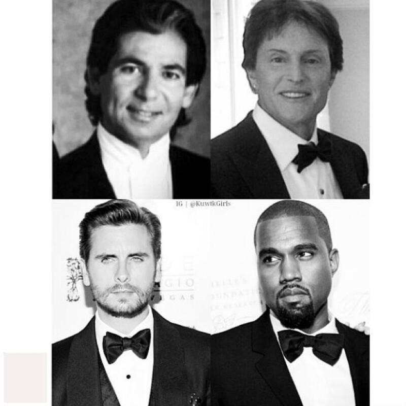 Robert, Bruce, Scott y Kanye.