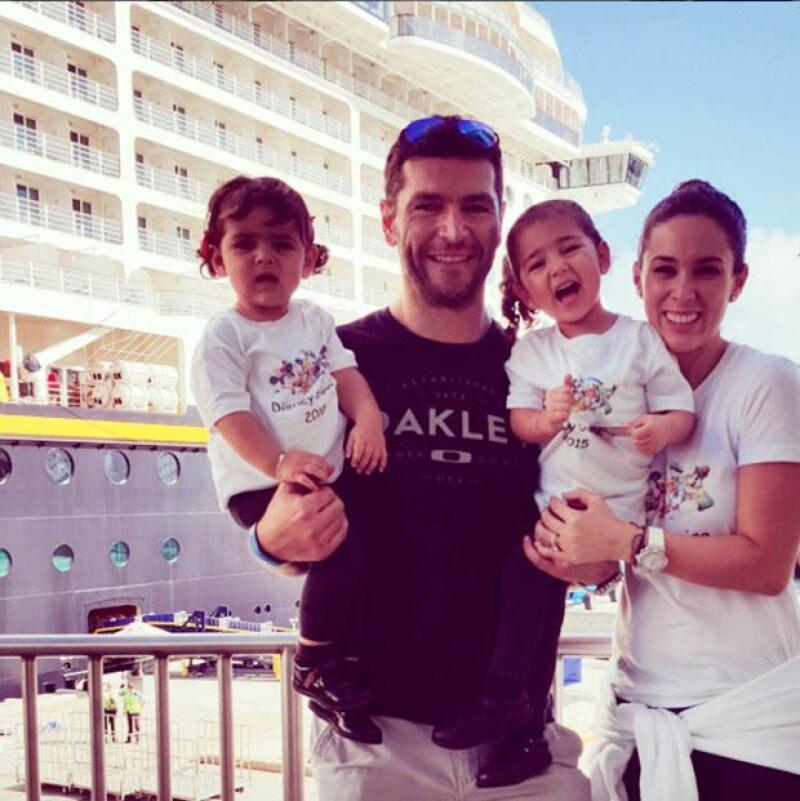 Jacky y su esposo Martín Fuentes esperan a su tercer hija.