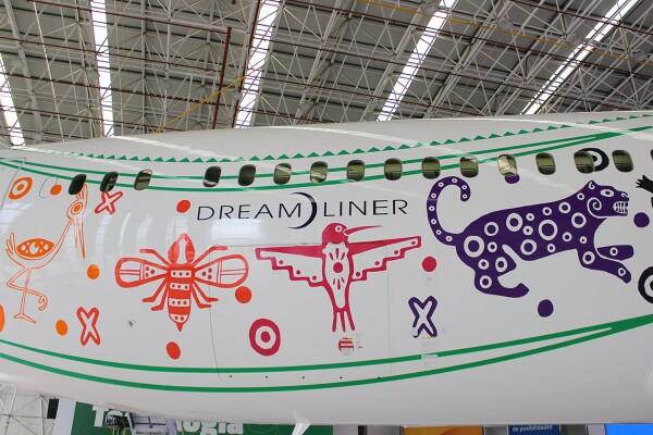 """Aeroméxico Boeing 787-9 """"Quetzalcóatl"""" 3"""