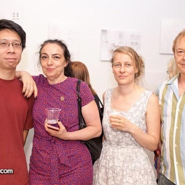 Wayne Liu,Abigail Simon,Estater Boresche y Stephen Spera