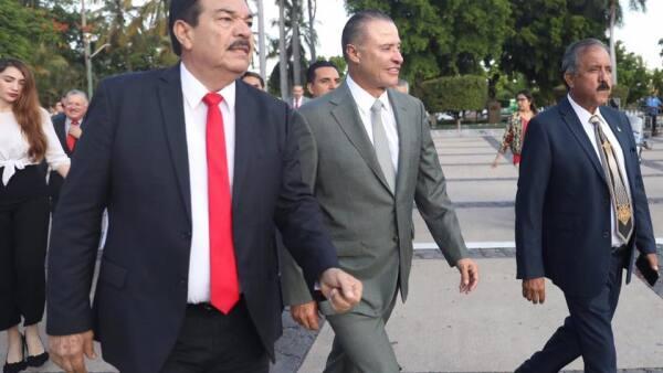 El gobernador de Sinaloa, Quirino Ordaz Coppel, se reunió con funcionarios de EU en septiembre pasado.