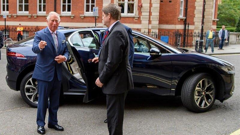 El Jaguar I-Pace del príncipe Carlos