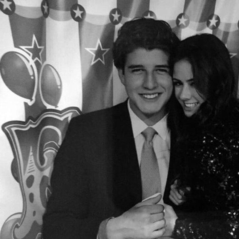 La hija de Enrique Peña compartió en Instagram un video junto a Santiago Villar, con quien mantiene un noviazgo desde diciembre de 2014.