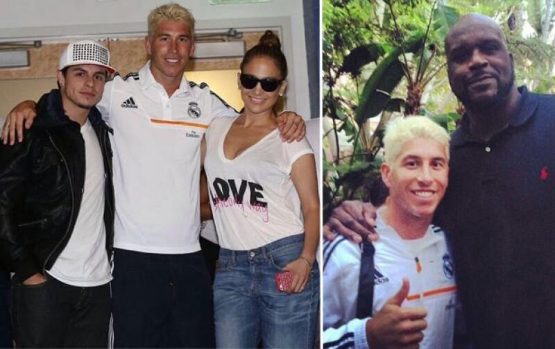 Ramos agradeció la presencia de J.Lo.