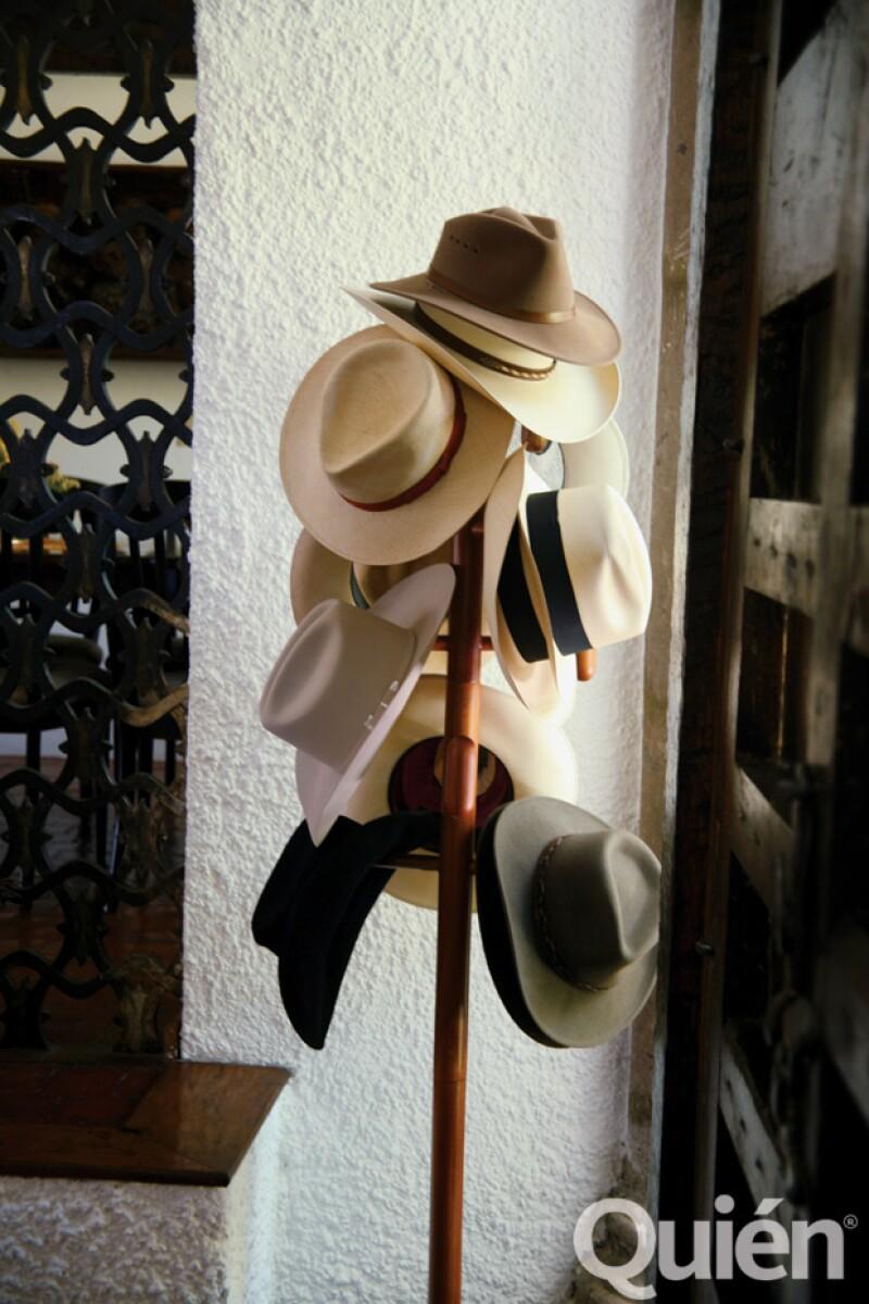 Estos son los sombreros favoritos de VIcente Fox.