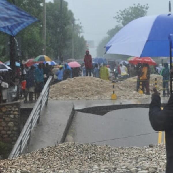 Haití sufre los efectos de Sandy