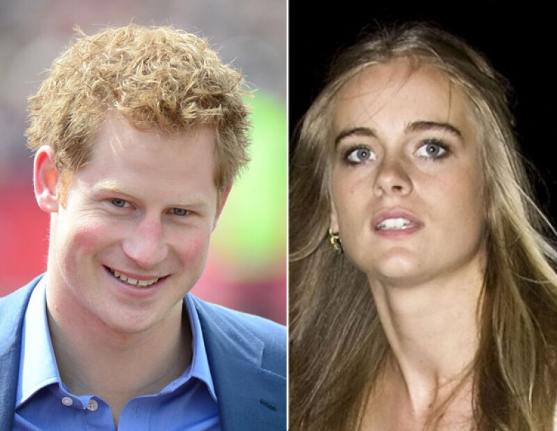 El hermano del Duque de Cambridge podría haber caído rendido a los pies de la hermosa Cressida Bonas.