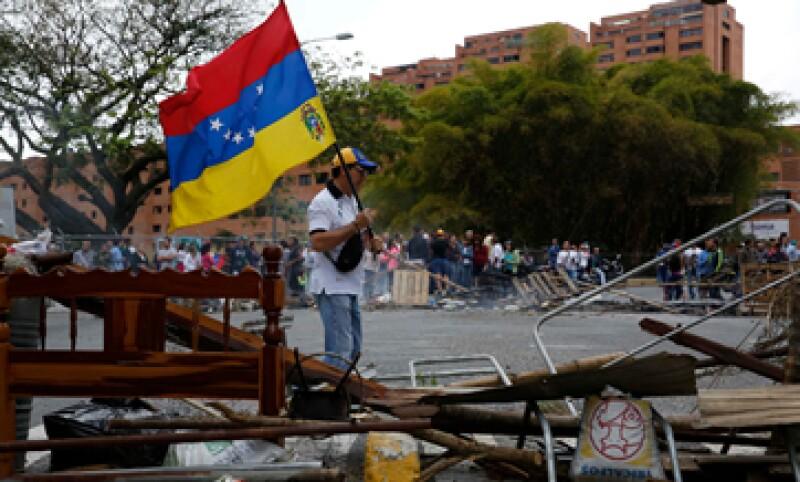 Venezuela está en medio de una ola de protestas, que han dejado al menos cinco muertos. (Foto: Reuters)