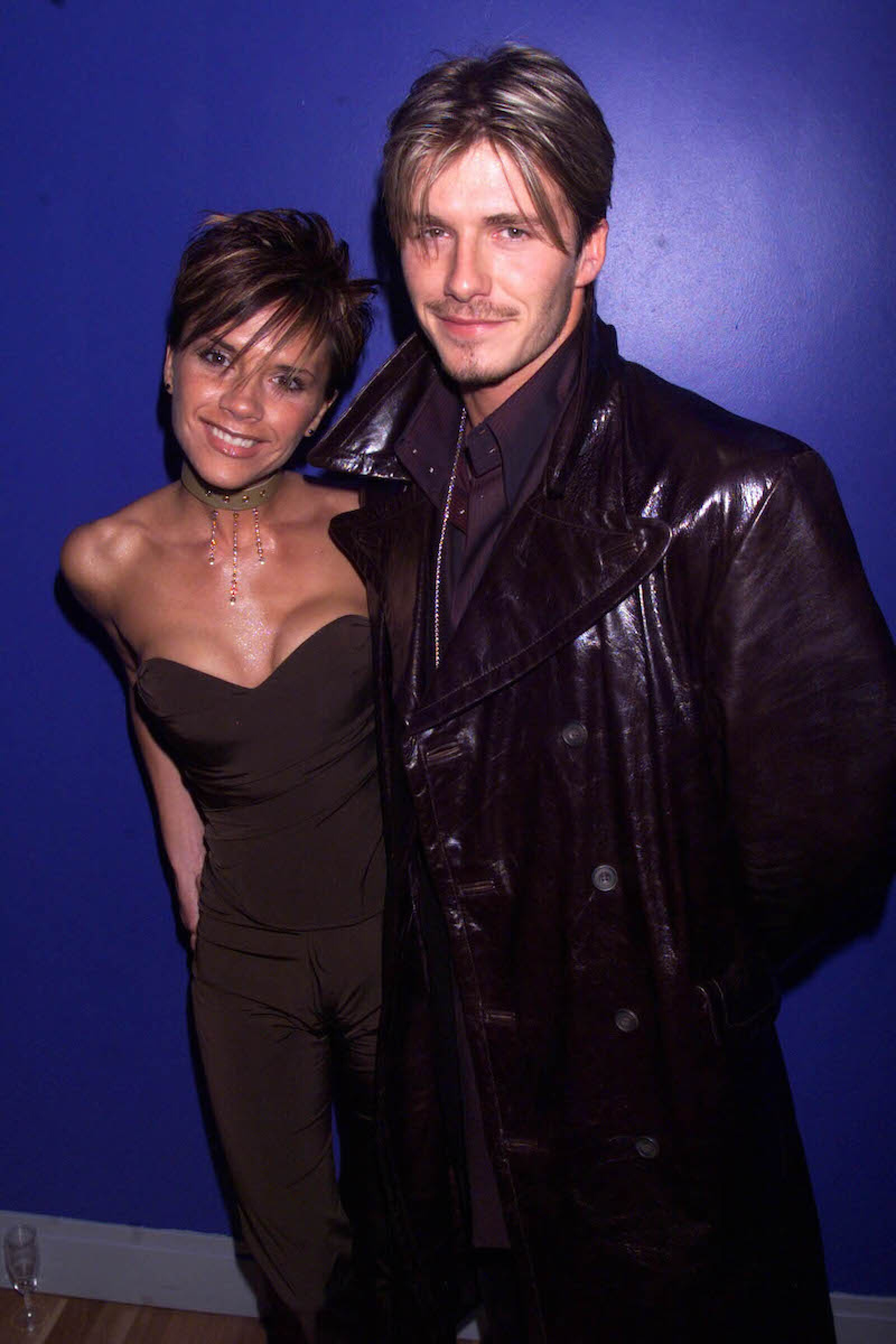 Victoria and David Beckham at the Withnail and I charity premiere