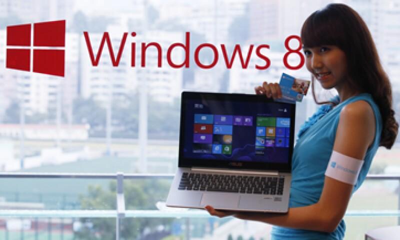 En 2011 Windows ingresó más de 18,000 mdd en ventas y 11,500 mdd en ganancias.  (Foto: AP)