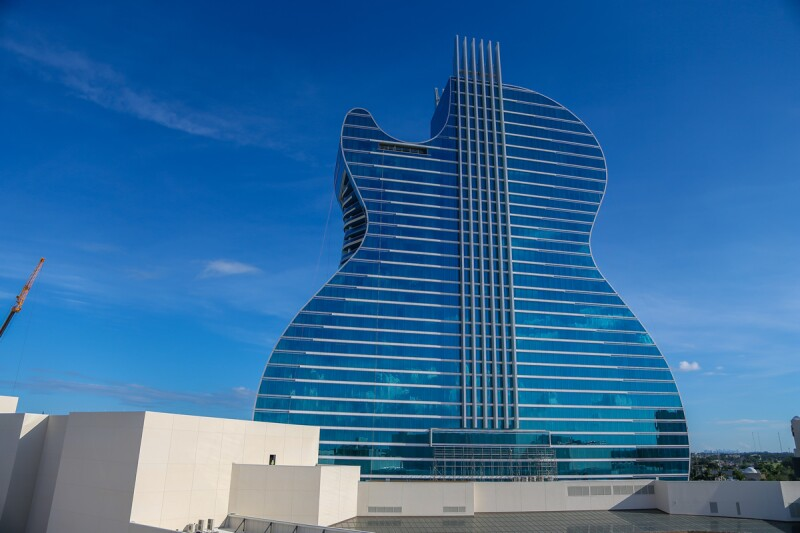 hotel hard rock guitarra