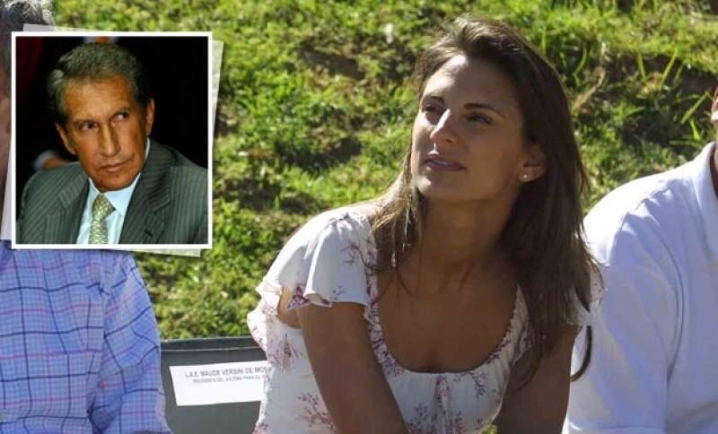Luego de que su ex marido le prohibiera ver a sus hijos, la que fuera esposa del ex gobernador del Estado de México habló de la situación en televisión francesa.