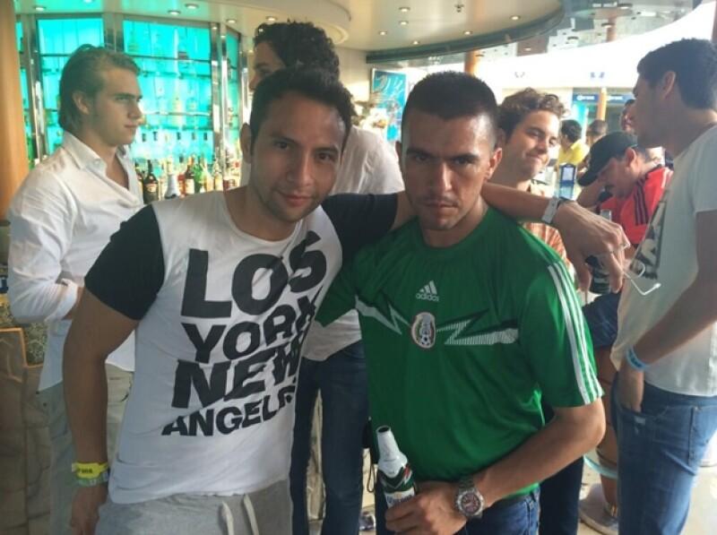 Esta es una de las imágenes que Jorge compartió en su cuenta de Twitter durante su viaje.