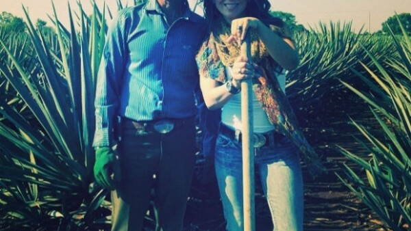La actriz dejó Los Angeles durante algunos días para ser parte de una degustación de tequila en Arandas, Jalisco y relajarse en las playas de Punta Mita.