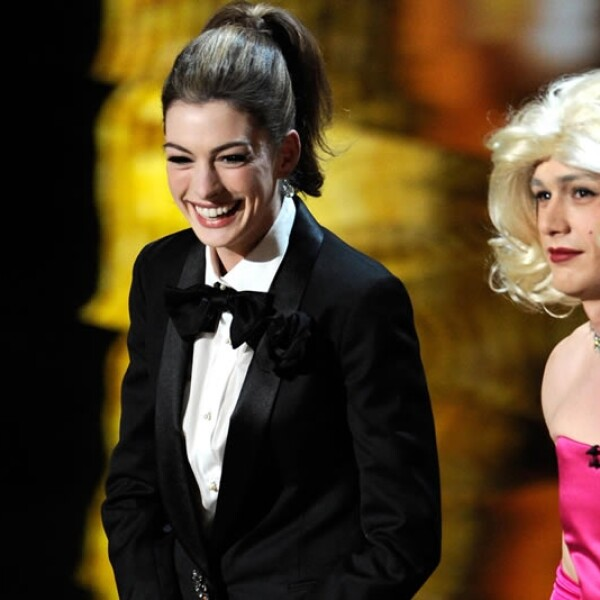 James Franco Anne Hathaway anfitriones Oscar