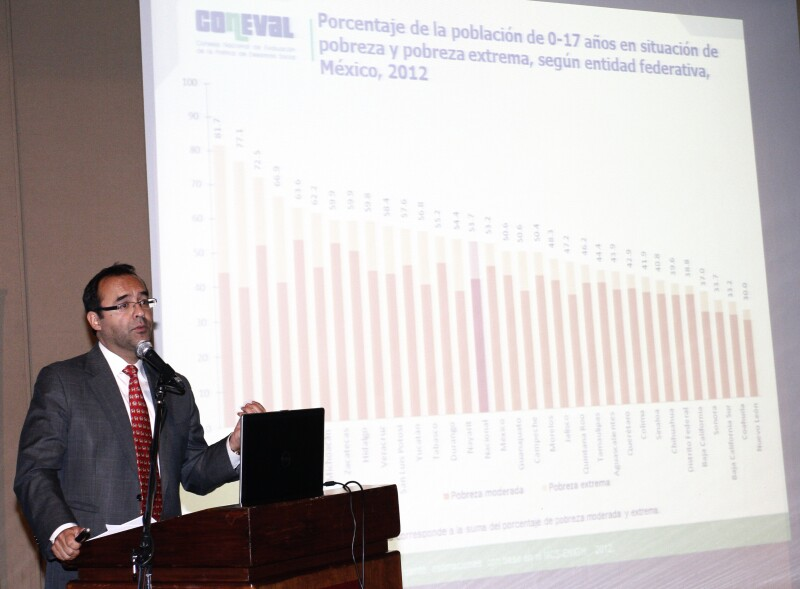 Gonzalo Hernández Licona es el fundador y director del Consejo Nacional de Evaluación de la Política de Desarrollo Social.