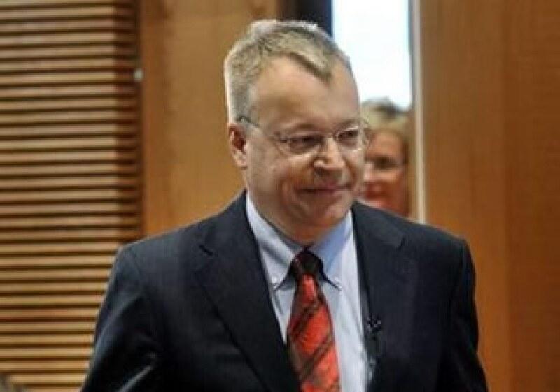 Stephen Elop afrontará la pérdida del liderazgo de Nokia en los móviles avanzados. (Foto: Reuters)