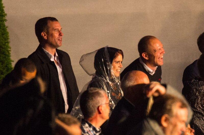 La princesa Beatrice, Mike Tindall y Peter Phillips fueron algunos de los invitados