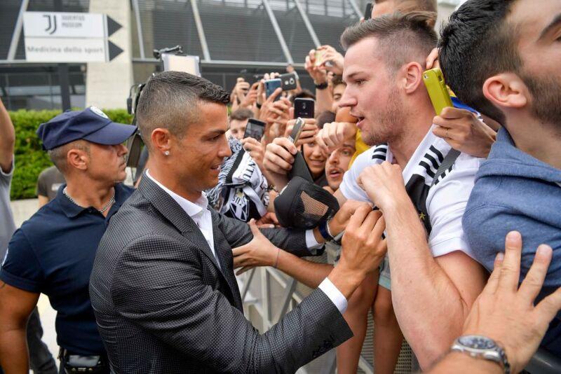 Cristiano Ronaldo presentado Juventus