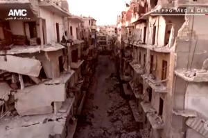 Aleppo en ruinas