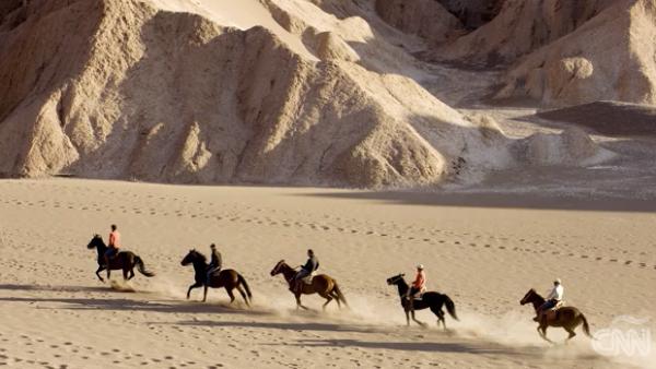 Las riquezas naturales del desierto más seco del mundo