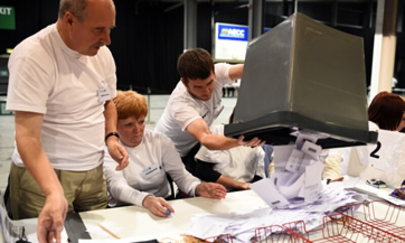 Se espera que la participación en el referéndum sea de alrededor de 80%. (Foto: Reuters)