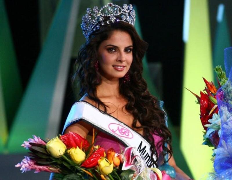Mariana Berumen Reynoso, de León, Guanajuato, fue designada Nuestra Belleza Mundo
