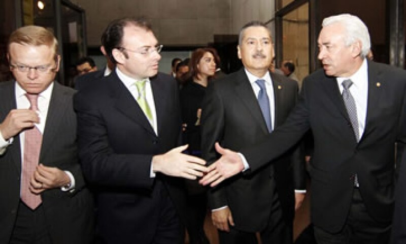 Luis Videgaray compareció ante la Cámara de Diputados para explicar el Paquete Económico 2013. (Foto: Notimex)