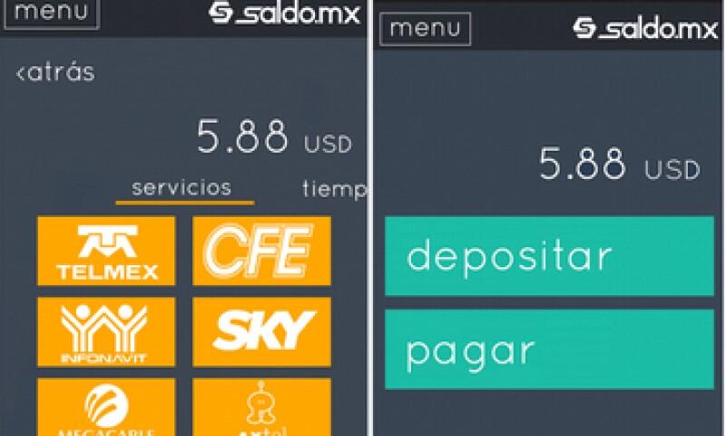 La aplicación permite pagar servicio de México desde Estados Unidos (Foto: Cortesía)