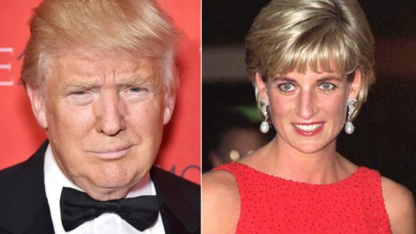 Trump y diana