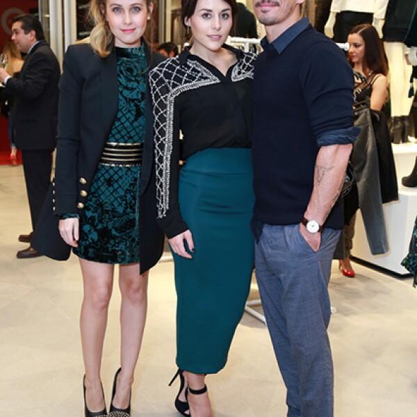 Natasha Dupeyron,Zuria Vega y Alberto Guerra