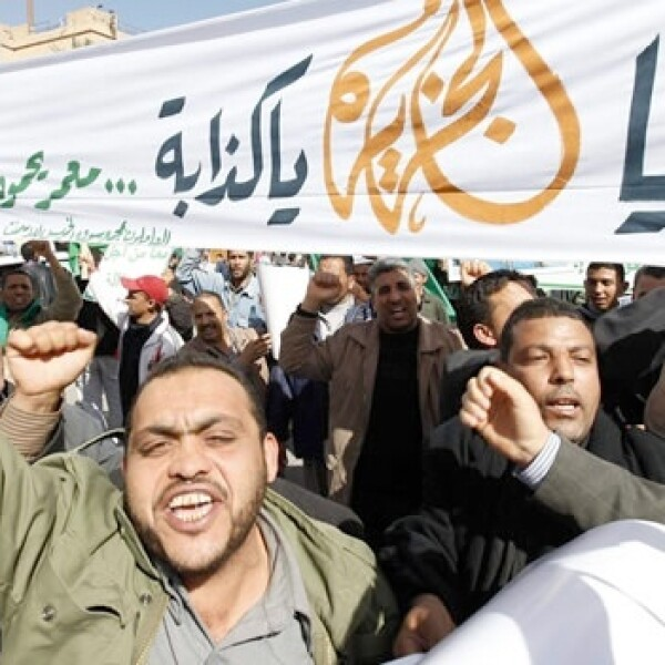 protestas, primavera arabe, libia