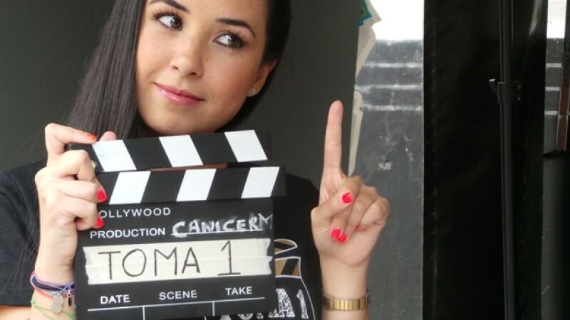 Fátima Torre posó para la campaña `Toma 1´.