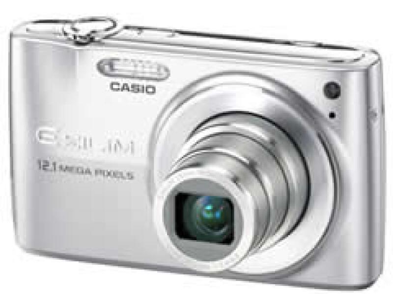 La cámara fotográfica Casio Exilim tienen hasta 12.1 megapixeles.  (Foto: Cortesía Casio )