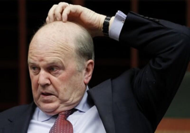 Michael Noonan rechazó que Dublín necesite de un aporte adicional a su paquete de rescate de 85,000 mde.  (Foto: Reuters)