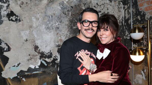 Manolo Caro y Verónica Castro