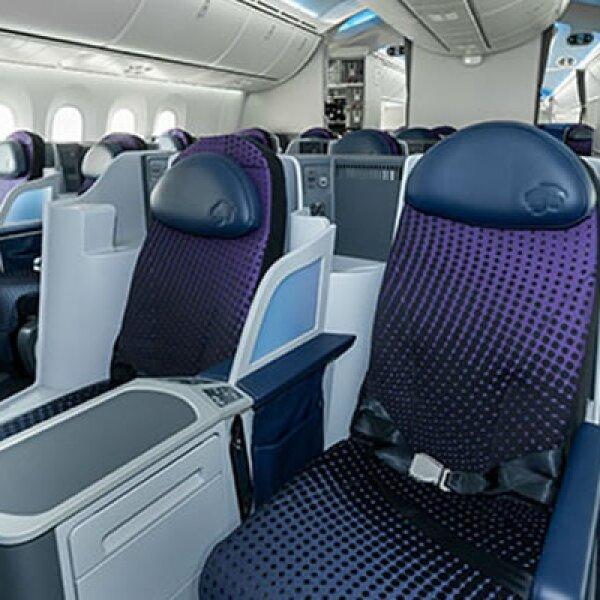 Dos aeronaves 787 llegarán en septiembre para cubrir rutas hacia París y Nueva York.